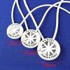 BANDEL van Dell necklace silver model /necklace/silver/ sports / necklace / neck reply / accessories / magazine publication /