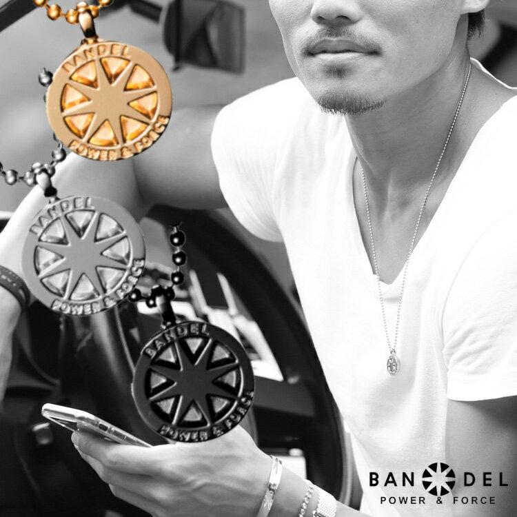 バンデル チタン ネックレス ラージ BANDEL necklace titanium large メンズ レディース シルバー ゴールド ブラック 送料込み スポーツ/【楽天BOX受取対象商品】