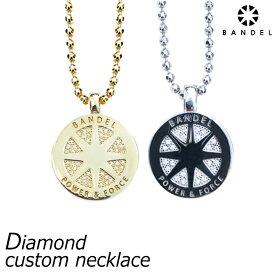 【送料無料】BANDEL バンデル ダイヤモンド カスタム ネックレス diamond custom necklace おしゃれなスポーツネックレス スポーツアクセサリー メンズ レディース ユニセックス 新作 新商品