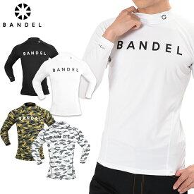 バンデル ハイネック ロングTシャツ BANDEL highnecked Long T-shirt/バンデル アンダーウェア Tシャツ/ロングTシャツ/長袖/BANDEL(バンデル) ハイネックロングTシャツ ブラック Sサイズ Mサイズ Lサイズ LLサイズ