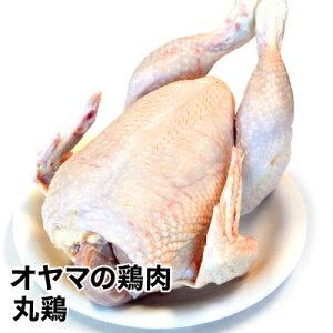 産直新鮮オヤマの丸鶏約2kg前後《冷蔵》国産 からあげ とり肉 鶏肉 蒸しどり クリスマス 豪華 サラダ キャンプ ダッチオーブン アウトドア ガラ