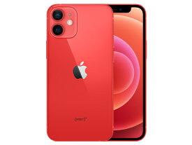 【新品・未開封品】 iPhone 12 mini (PRODUCT)RED 64GB SIMフリー [レッド] MGAE3J/A 送料無料 【即納】【あす楽】【プレゼント】【ギフト】【家族】
