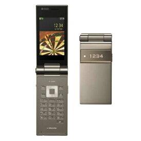 【中古】 docomo FOMA P-09A ゴールド白ロム 3G世代携帯電話 ガラケー【RCP】メール便対応