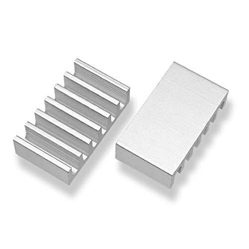 小型 マルチヒートシンク 4個セット3M製両面シート付属ICON SHOP IC-HS01サイズ 12mm x 21mm x 6mm 長方形Fire TV Stick SSD スティックPC など熱暴走対策 【RCP】メール便対応
