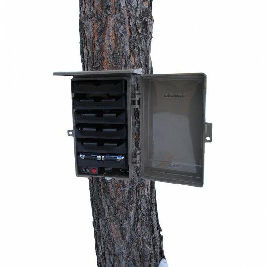 単1電池バッテリーボックス(1.8mケーブル) EX24C-6V【送料・代引手数料無料】