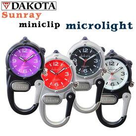 Dakota Sunray mini clip microlight (ダコタ サンレイ文字盤 ミニクリップ マイクロライト)クリップウォッチ