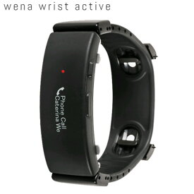 SONY wena wrist active Black【送料・代引手数料無料】