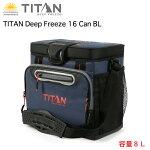 TitanDeepFreeze16CanBLクーラーバック人間工学に基づいた設計のショルダーストラップにより、筋肉の負荷を軽減し持ち運びしやすい。送料無料