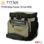 TitanDeepFreeze16Canモスクーラーバック人間工学に基づいた設計のショルダーストラップにより、筋肉の負荷を軽減し持ち運びしやすい。送料無料