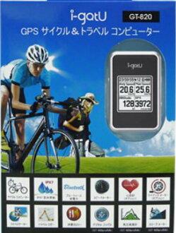 에서의 GPS 데이터로 거 USB i-gotU GT-820PRO 트래블 로거가 ≪ 운영 ≫