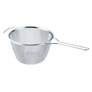 共柄パスタストレーナー 18cm 麺・うどんの湯切り