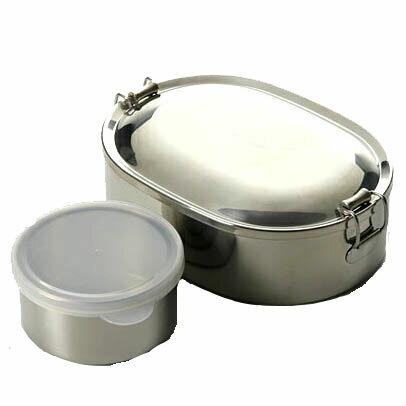 シーガル オーバルランチボックス 17cm 丸容器付