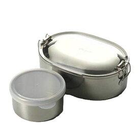 シーガル オーバルランチボックス 16cm 丸容器付
