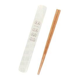 しろねこ 箸と箸箱セット