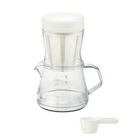 コーヒーサーバーストロン400(ホワイト)2WAYドリッパーセット