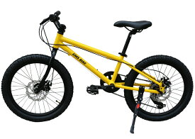20インチ ジュニアマウンテンバイク シマノ6段変速ギア クロスバイク 子供自転車 6から13歳まで キッズバイク こども用 男の子 女の子 PL保険加入