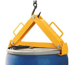 ドラム缶吊具 DL500B 耐荷重500KG ドラム缶縦吊り具 キャッチャー フック ドラム缶吊り具 ドラム吊り具 ドラム吊具 縦吊り 縦吊 ドラム缶縦吊りクランプ ドラム缶 運搬 ドラムキャリー ドラムリフター ホイスト クレーン