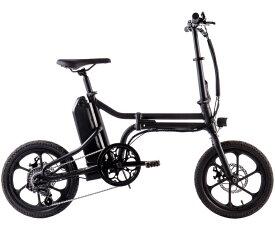 折りたたみ 電動アシスト自転車 16インチ 電動自転車 シマノ製7段変速機 ミニベロ 通勤 通学 便利 おすすめ