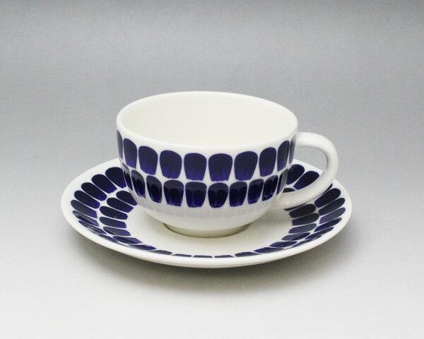 アラビア 24h Tuokio(トゥオキオ) 18466/8381 ティーカップ&ソーサー コバルトブルー【あす楽対応】