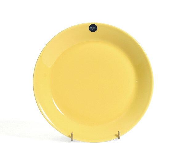 アラビア カラーズ イエロー プレート 21cm Arabia Colors Yellow 100345 【耐熱 電子レンジ対応 AATAMI】