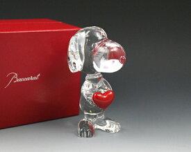 バカラ フィギュア 2613-001 スヌーピー レッドハート 【置物 人形 ギフト 結婚祝い プレゼント 贈り物】【あす楽対応】