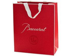 バカラ紙袋 29cmL×34cmH 中 ※同ブランドの商品購入時のみお買い求めいただけます【ラッキーシール対応】