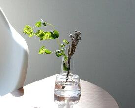 ホルムガード フローラ ベース 12cm ミディアム クリア Holmegaard Flora vase 【花瓶 マウスブロウ(手吹き) 一輪挿し フラワーベース ギフト】