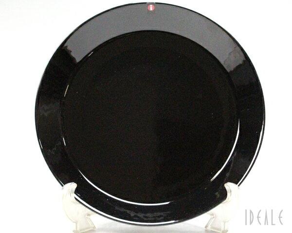 イッタラ ティーマ 007271 プレート 26cm ブラック 【耐熱 電子レンジ対応 お皿 ギフト】【ラッキーシール対応】