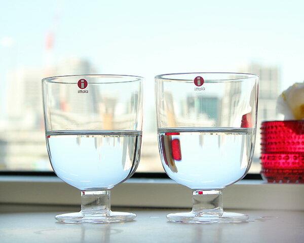 イッタラ レンピ 951169 グラス 350ml 2個入り(ペア) クリア 箱入り 【セット 赤ワイン 白ワイン ギフト】【ラッキーシール対応】