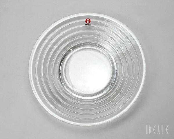 イッタラ アイノアアルト(アイノアールト) 6115 プレート 17.5cm クリア 【お皿 ギフト】