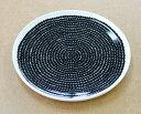 マリメッコ marimekko ラシィマット RASYMATTO 67843-190 プレート 25cm ホワイト/ブラック 【YDKG-s】【HLS_DU】【RCP】【皿 ディナープレート】[170