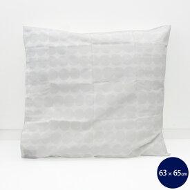 マリメッコ ラシィマット 枕カバー 60x65cm ホワイト marimekko RASYMATTO [ネコポス対応可(1枚のみ)] 【北欧 ピローケース ギフト 結婚祝い プレゼント 贈り物】