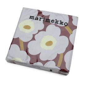 マリメッコ ペーパーナプキン ウニッコ ボルドー 33x33cm 20枚入り marimekko UNIKKO 【紙ナプキン】