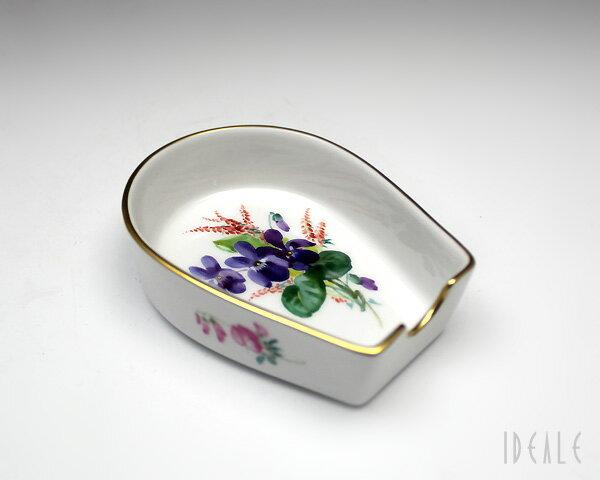 マイセン 花と蝶 250210-53541 トレイ【あす楽対応】