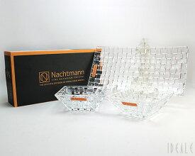 ナハトマン ボサノバ 90026 バリューパック レクタングラープレート 28cm 1枚&スクエアボウル12cm 2個 【セット お皿 ギフト】【ラッキーシール対応】