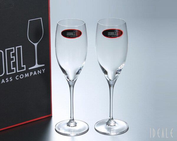 【期間限定!ラッピング無料♪】リーデル ヴィノム ヴィンテージシャンパン ペア VINUM 6416/48 【グラス シャンパングラス セット】[ラッピング無料]