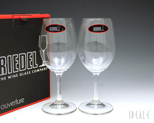 リーデル OUVERTURE(オヴァチュア) 6408/5 ホワイトワイン ペア 【グラス ワイングラス セット 白ワイン ギフト】【ラッキーシール対応】
