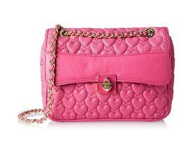 レディース ショルダーバッグ【ベッツィジョンソン】人気ブランド 海外 輸入 人気バッグ ピンク Betsey Johnson Always Be Mine Flap Shoulder Bag Pink