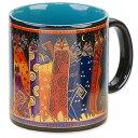 [ローレルバーチ] LAUREL BURCH アートデザイン ミュージアム コーヒーマグ コーヒーカップ Artistic Museum Mugs(Santa Fe Felines)