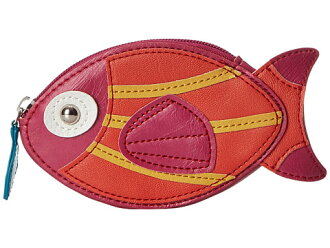 deo报告!! 在国外受欢迎的珀斯女子的很受欢迎的可爱的硬币袋Relic Takeaway Zip Coin Fish Salmon