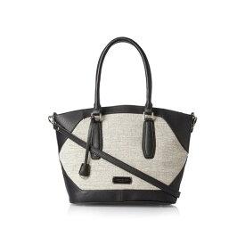 輸入 レディース ハンドバッグ ロンドンフォグ London Fog エイブリー リネン ショルダーバッグ ブラック Women's Avery Linen Shoulder Bag Black