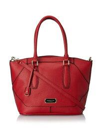 ロンドンフォグ 外出に便利な大収容量 London Fog エイブリー ショッパー トートバッグ ショルダーバッグ レッド [Women's Avery Shopper Red]