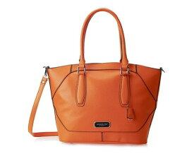 ロンドンフォグ 外出に便利な大収容量 London Fog エイブリー ショッパー トートバッグ ショルダーバッグ オレンジ [Women's Avery Shopper Orange]