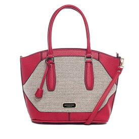 輸入 レディース ハンドバッグ ロンドンフォグ London Fog エイブリー リネン ショルダーバッグ レッド Women's Avery Linen Shoulder Bag Red