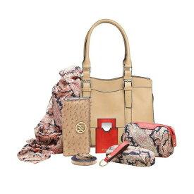 出血!5の付く日クーポン発行中 ハンドバッグ セット Emilie ジェーン サッチェル ハンドバッグ+ エッセンシャルボックス Women's Jane Satchel + Essentials Box, Wheat