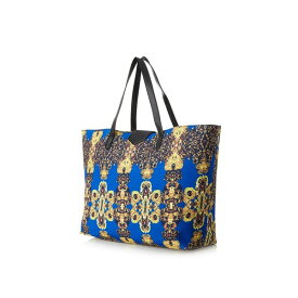 USA直輸入 レディース ショルダーバッグ ニーラ アンソニー Nila Anthony プリント柄 ショルダー トートバッグ ブルー Women's Printed Tote Bag Blue