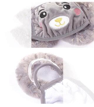 子供用冬用デザインマスク冬イヤーマフデザイン防寒ガールマスクイヤーウオーマー耳当てイヤーマフラーかわいいデザイン