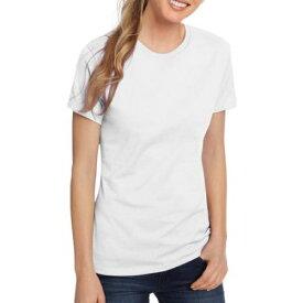 出血!5の付く日クーポン発行中 Tシャツ ホワイト ヘインズ レディース ライトウエイト ショートスリーブ Hanes Women's Lightweight Short Sleeve Scoop neck T-Shirt Sサイズ おうち時間 ステイホーム
