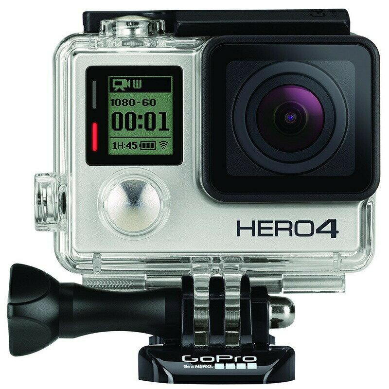 GoPro ウェアラブルカメラ HERO4 シルバーエディション アドベンチャー CHDHY-401 ゴープロ ヒーロー 4 USA直輸入 日本語対応【在庫限り】