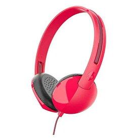 スカルキャンディ Skullcandy ヘッドセット マイク ヘッドフォン レッド Skullcandy Stim On-??Ear Headphones with Built-In Microphone and Remote